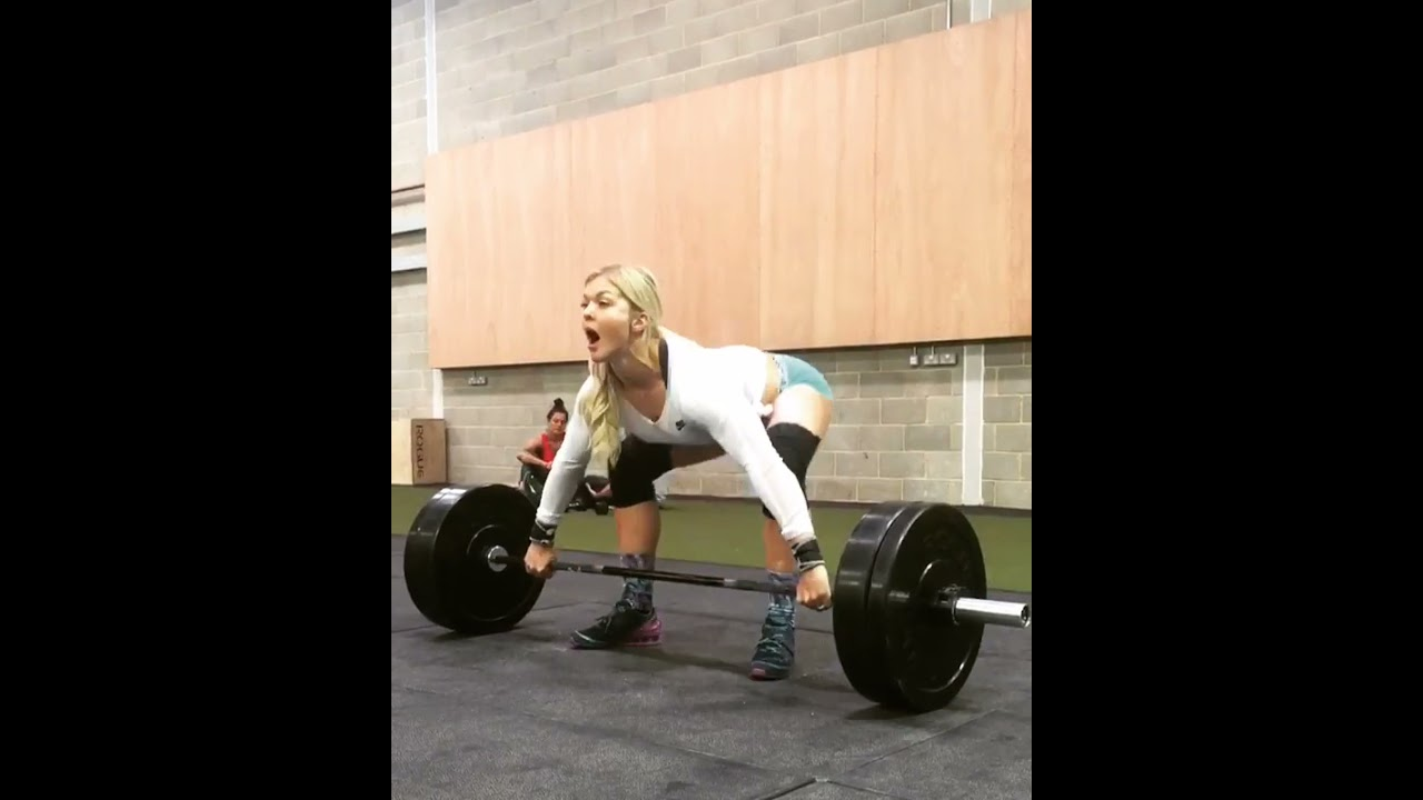 Snatch Workout - Weightlifting Training For Crossfit Games | Crossfit Athlete #shorts