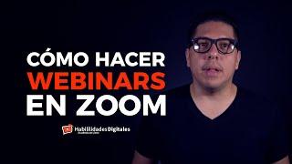 Cómo Hacer Webinars Con Zoom Seminarios Web