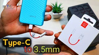 Best Type-C to 3.5mm Adapter for OnePlus Nord || Best Headphone Jack 🔥🔥