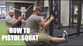 Step-By-Step Instruction on How to Pistol Squat