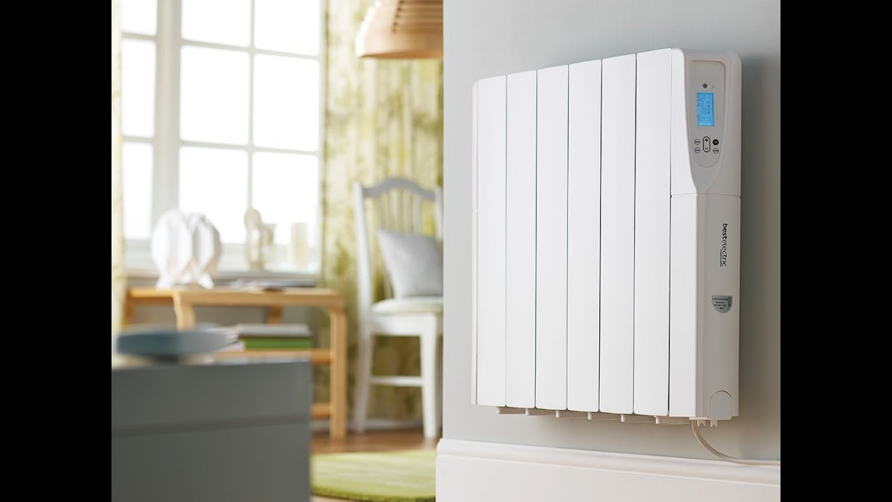 Slimline electric heaters wall mounted - Comfort Control Oil Filled Electric Radiator Video From Best Electric Radiators Youtube