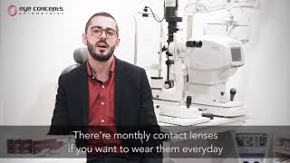 Educational Video: How to choose your contact lenses (Eye Concepts)