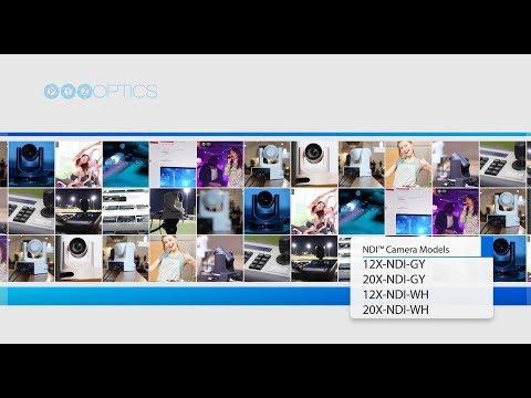 PTZOptics VL NDI|HX ZCam HD IP Network Camera with 4 4-88 5mm Lens
