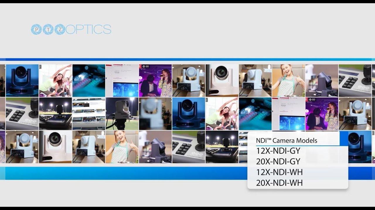 NDI PTZ Cameras - PTZOptics