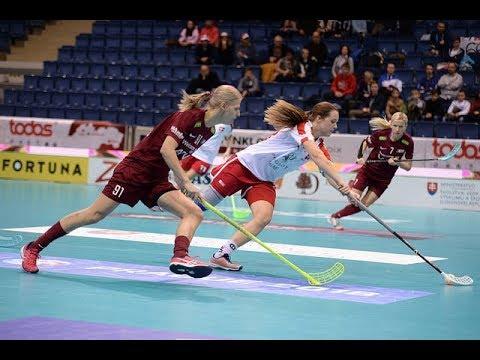 Women's WFC 2017 - LAT v DEN (Play-off 3)