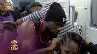 Day 21: Hair game strong | Big Brother: Lockdown | Africa Magic