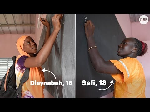 Safi and Dieynabah are trailblazers in Senegal // The ONE Campaign