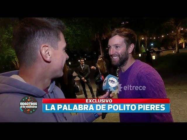 Polito Pieres, el nuevo novio de Pampita, rompió el silencio