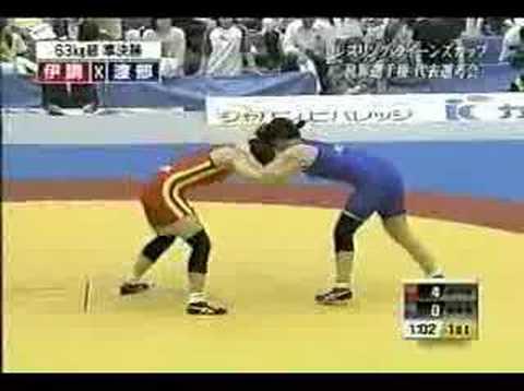 Japan Queens Cup 2007 63kg Semi-Final