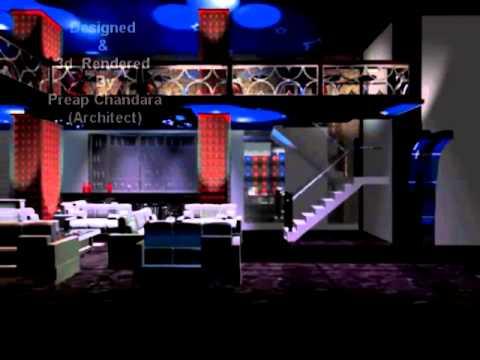 3d  Night club - Animation