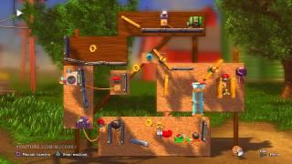 Crazy Robot - Crazy Machines Elements (PS3) Puzzle Mode