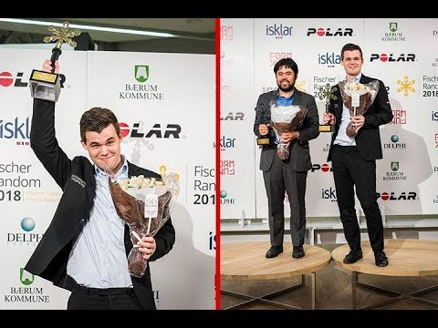 Exciting Battle Carlsen's Fortress Won Him Chess960 World champion Title