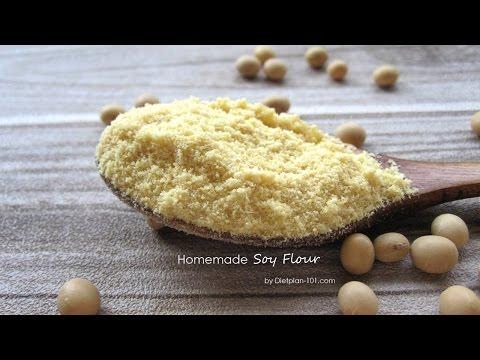 How to Make Soy Flour | Dietplan-101.com