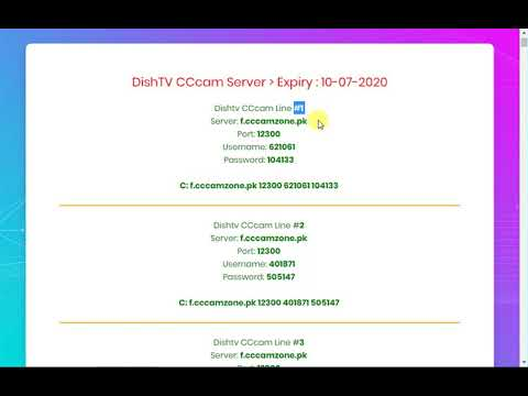 1 Year Free Cline CCcam Server 2019 - 12 Months Free Cline CCcam