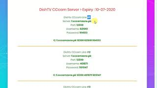 Download How To Get Free Cccam Cline Server For Dish Tv No