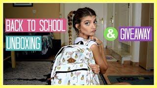 Back to School Unboxing - Πλαίσιο, Καλλυντικά, κλπ   katerinaop22