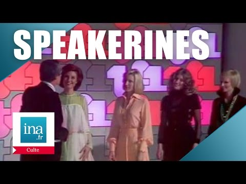 Georges De Caunes présente les nouvelles speakerines de TF1 | Archive INA