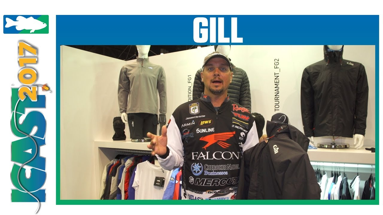 Gill FG24 Angler Jacket with Jason Christie | ICAST 2017