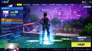 FORTNITE SEASON 9//BATTLE PASS//GRIND//PLAYING ZONE WARS WITH WRECKLESS YWT