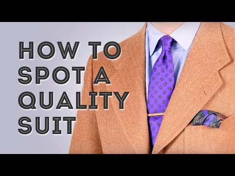 Buying High Quality vs Low Quality Suits Men Style Tips