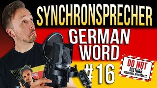 Learn German A.1 🇩🇪 Word Of The Day: Synchronsprecher | Episode 16 | Get Germanized