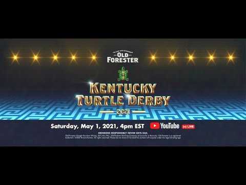 The 2021 Old Forester Kentucky Turtle Derby