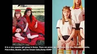 K-Pop Singer Red Velvet(Who is she?)