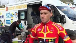 Cyclisme : le Roannais Jimmy Raibaud vainqueur de Bordeaux-Saintes sous les yeux de Raymond Poulidor