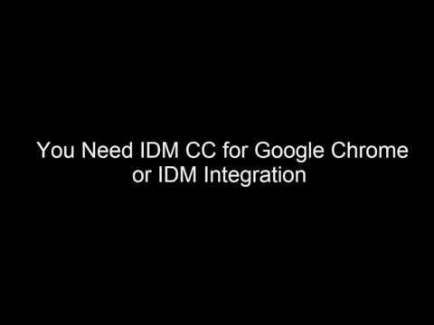 free download idm cc for chrome
