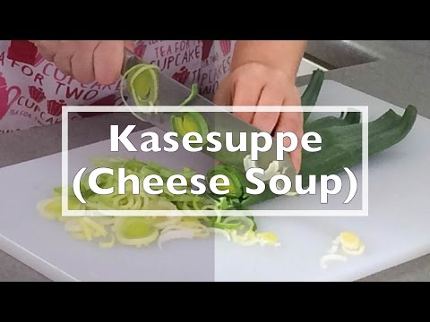 Kasesuppe (Cheese Soup)