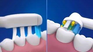 Різниця між технологіями електричних зубних щіток Oral-B