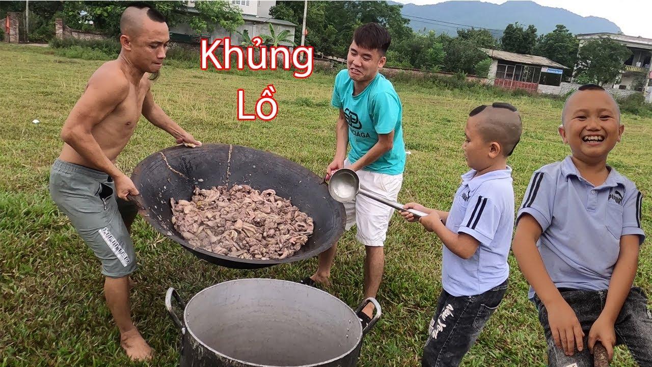 Hưng Vlog - Được Tam Mao Tv Đãi Món Vịt Om Sấu Khổng Lồ Ăn Không Sót Miếng Nào