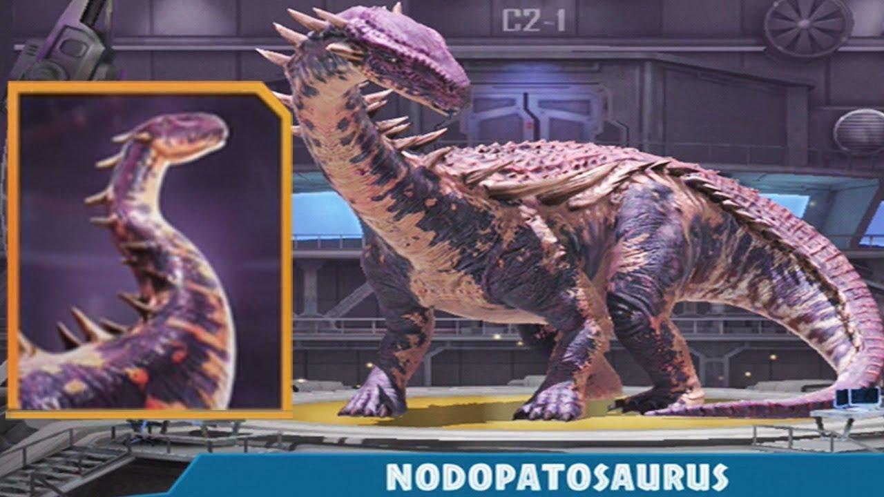 NODOPATOSAURUS HYBRID - Jurassic World Alive