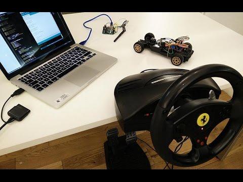 bilgisayar kontrollü araba