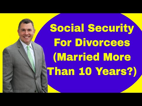 Social Security For Divorcees (Married More Than 10 Years?)