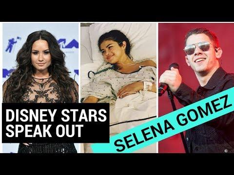 Disney Stars Speak Out About Selena Gomez's Kidney Transplant!