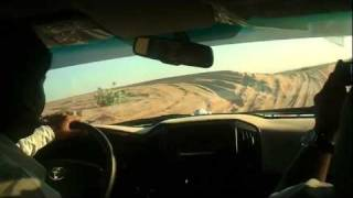 Dubai Desert Safari from inside the car part 1 HD