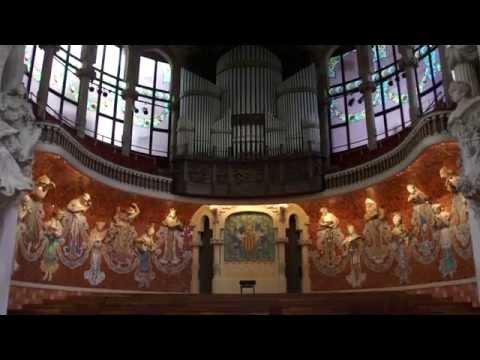 Main Concert Hall - Palace of Catalan Music