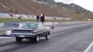 Pinks Armdrop,Bandimere Speedway 1964 A/fx Falcon