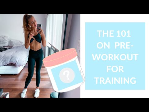 The 101 On Pre-Workout For Women ��