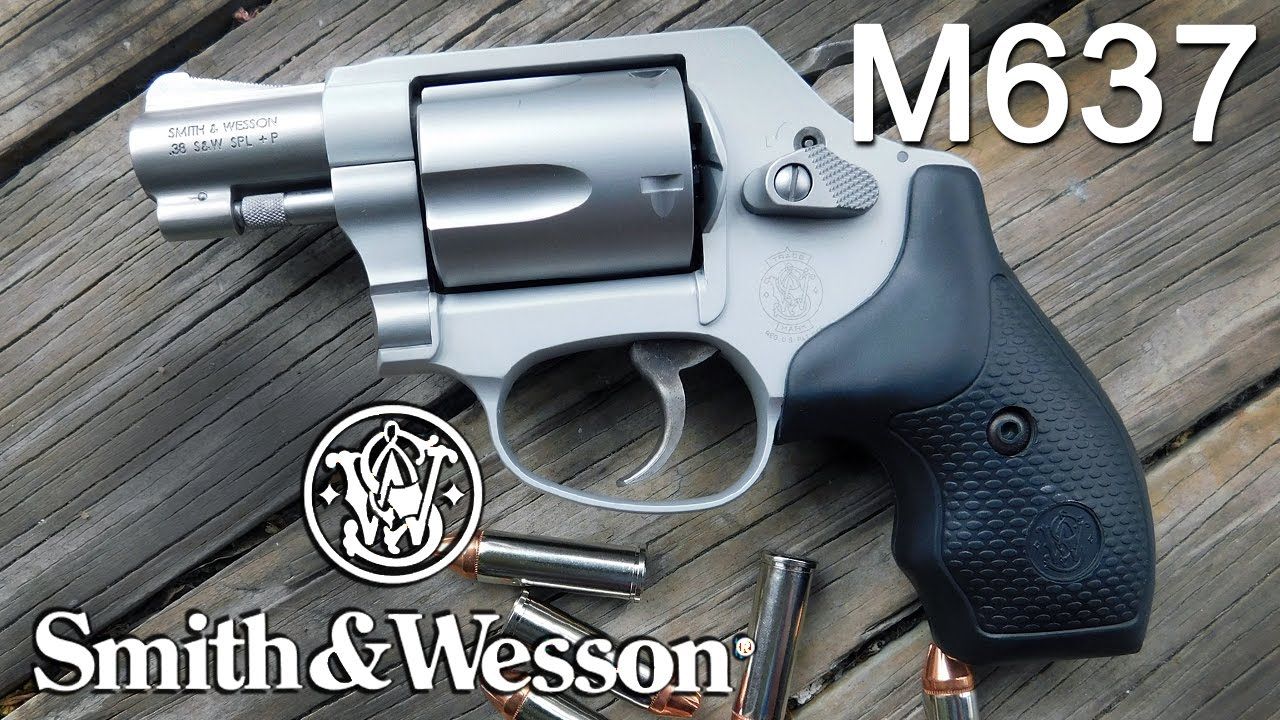 Smith Amp Wesson M637 Airweight Revolver In 38 Spl P