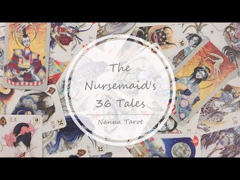開箱  達尼洛夫恐怖物語雷諾曼 • The Nursemaid's 36 Tales  // Nanna Tarot