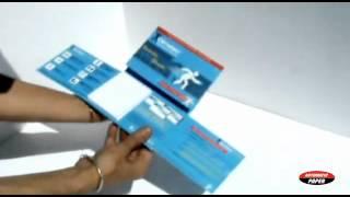 carte double tirette rabat +bloc pour   DAIICHI SANKYO par AUTOMATIC-PAPER.COM