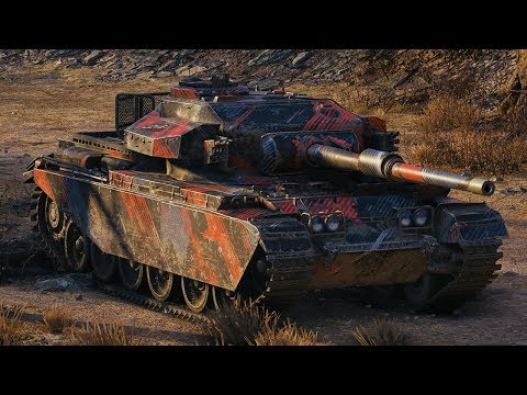 World of Tanks Centurion Mk. 7/1 - 9 Kills 9,2K Damage (1 VS 5) thumbnail