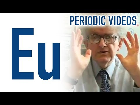 Video image: Europium - Periodic Table of Videos