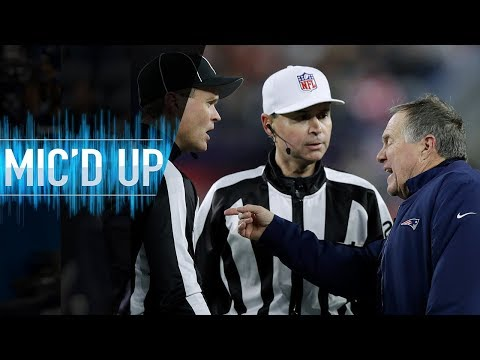 "Bill Belichick Mic'd Up vs. Packers ""Do you have an extra sharpie?"" 