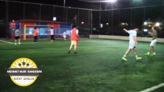 iddaa Rakipbul İzmir Halı Saha Ligi Mehmet Nuri Kandemir Altay Gençlik Maçın Golü