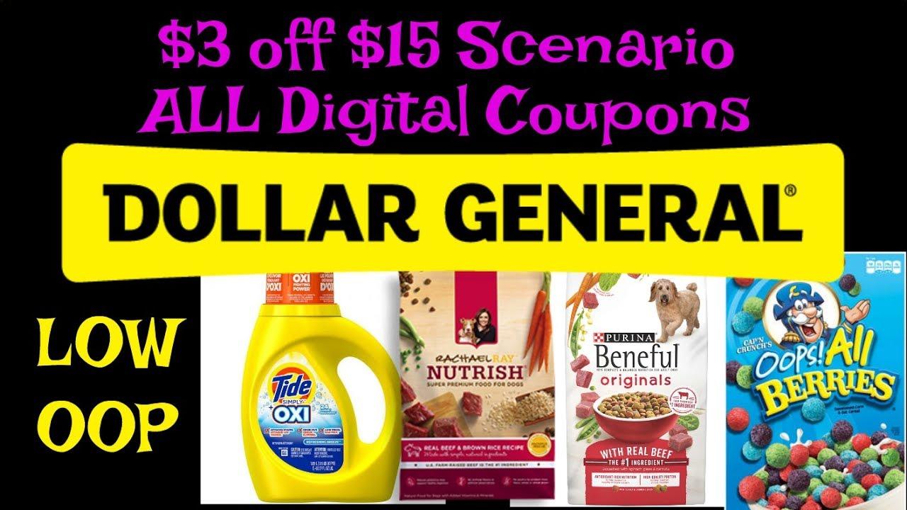 Dollar general digital coupons $2 off