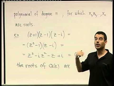 10 - Roots Of Polynomials