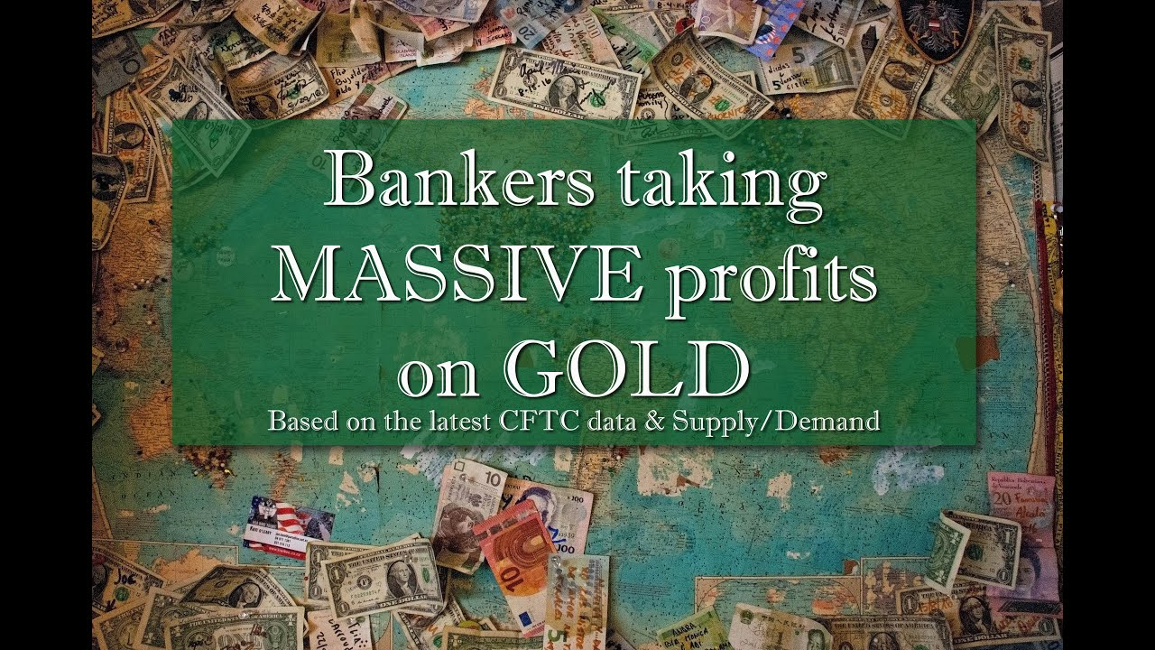 Bankers taking MASSIVE profits on #GOLD!